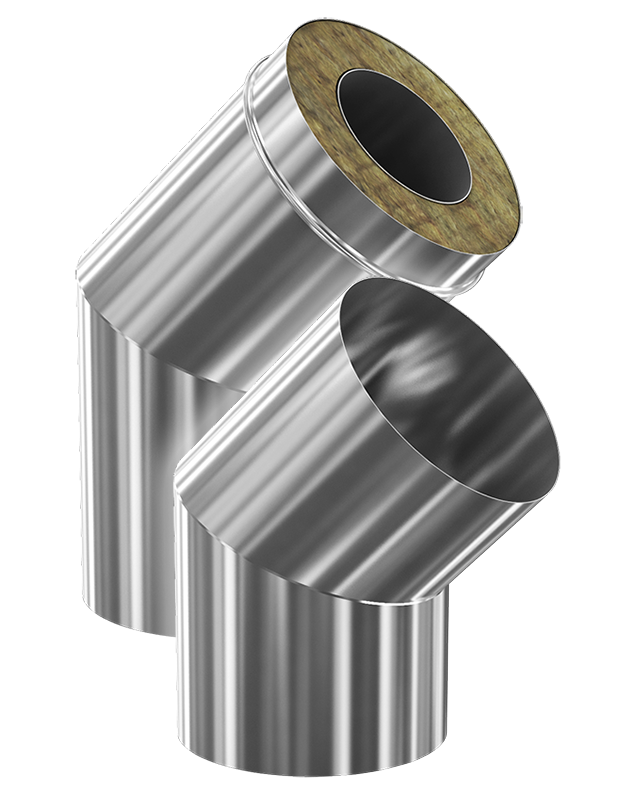 Преимущества многослойных стальных дымоходов