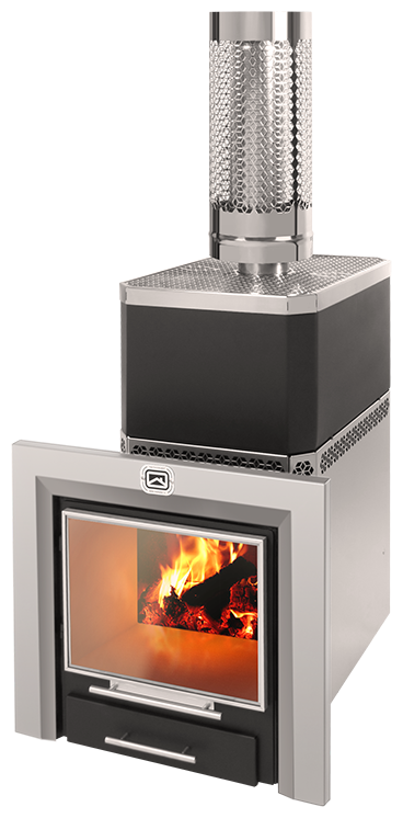 Бак для воды самоварного типа можно установить на любую печь от компании «Теплодар»