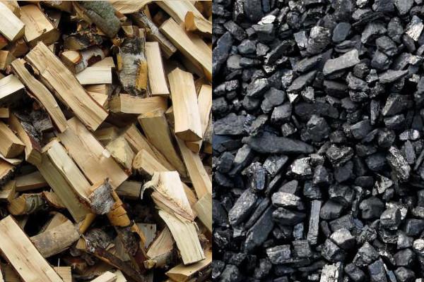 Уголь или дрова для печей отопления?
