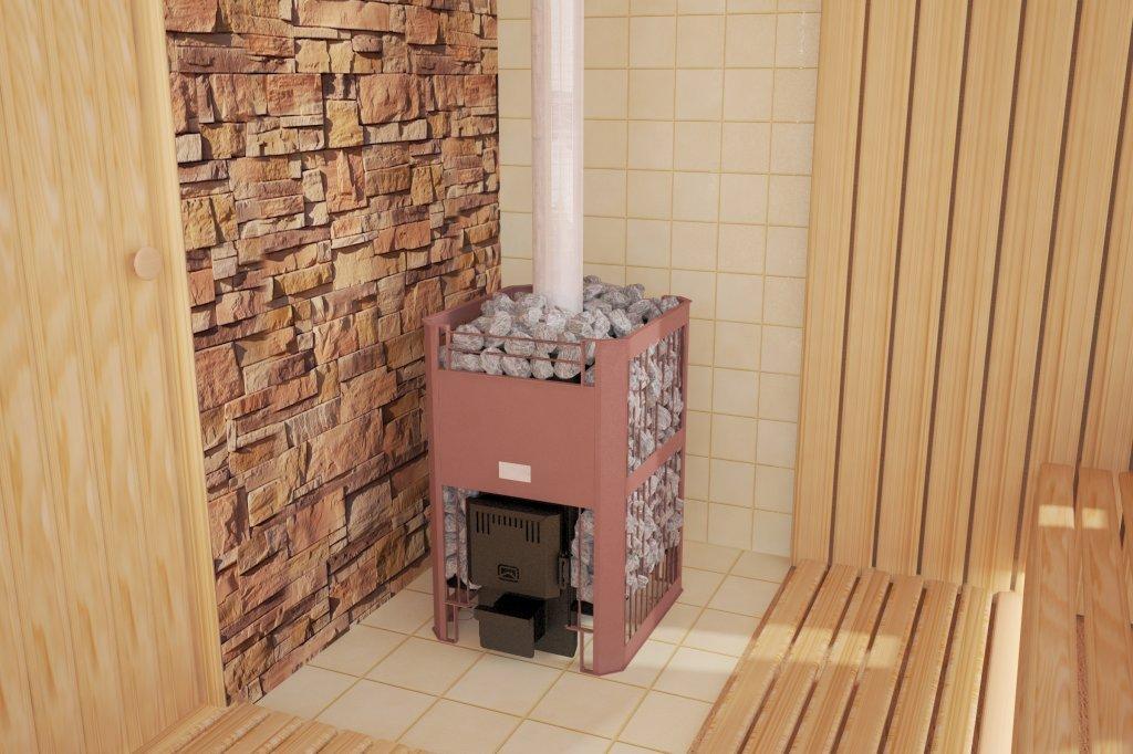 Плитка не используется как самостоятельное огнеупорное покрытие