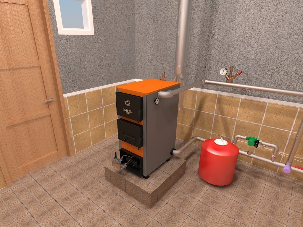 Газовый котел Куппер от Теплодар